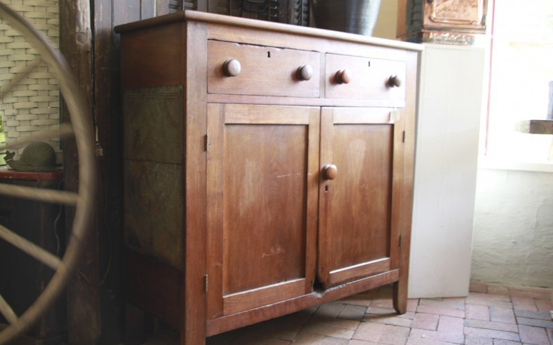 WALNUT JELLY CUPBOARD FROM EASTERN TENNESSEE – $1495.00